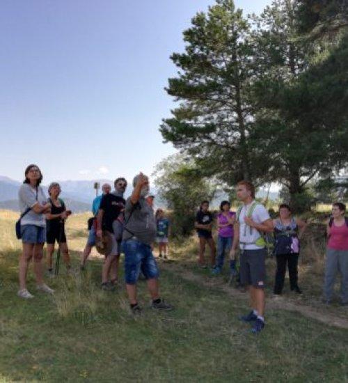 Interprétation du paysage – La formation des Pyrénées