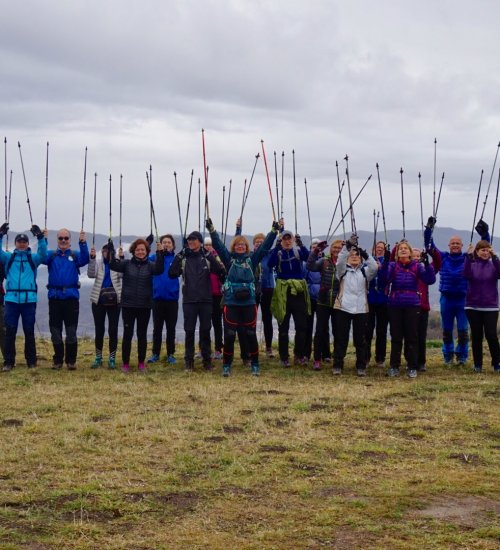 Initiation course in Nordic Walking