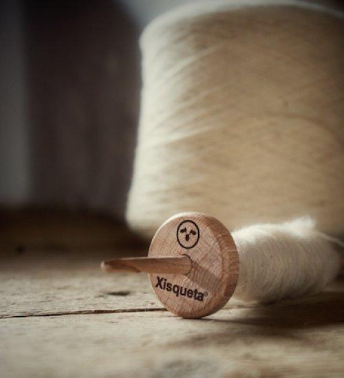 Vols treballar amb una artesana la llana Xisqueta?
