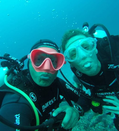 Baptême de plongée sous-marine