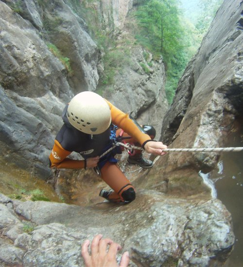 Canyoning - Parc naturel Cadí Moixeró – Initiation I (Demi-journée)