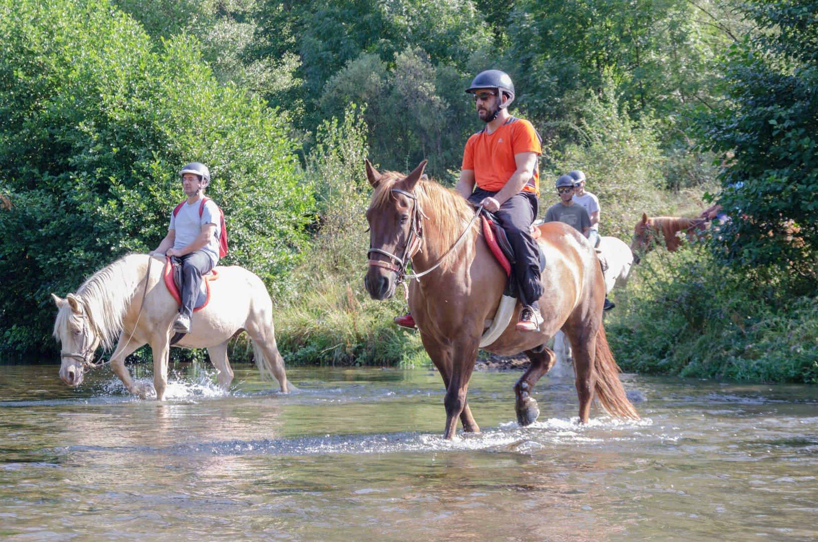 Excursió a cavall per la Vall de Cardós