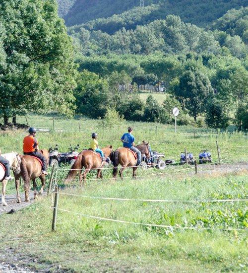 Excursion on horseback through the Cardós Valley