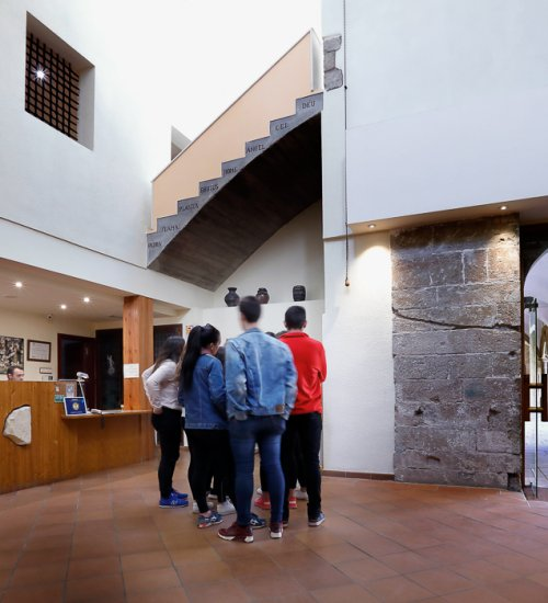Guided tour of the Monastery of Les Avellanes