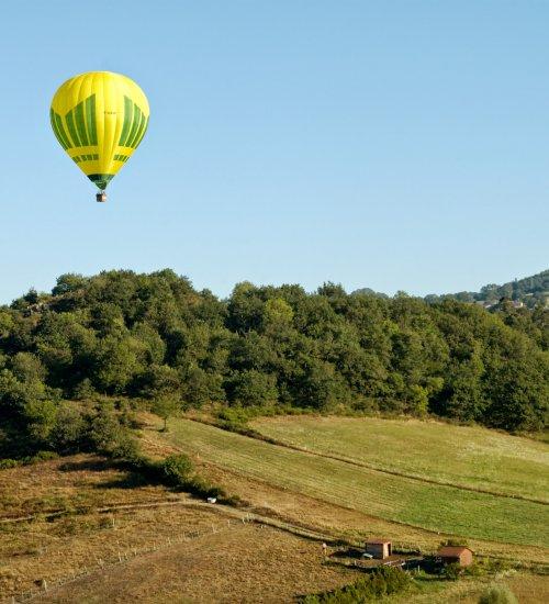 Balloon flight with views of Montserrat